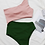 Thumbnail: Pink/Green Ribbed One-Piece Swimsuit