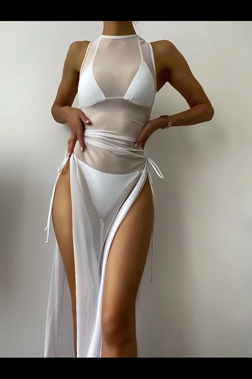 3-piece Thong Bikini w/ Cover-up