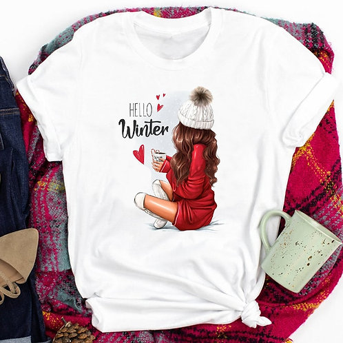 Winter and Holiday Tee's