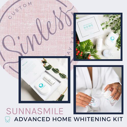 SunnaSmile Advanced At Home Teeth Whitening Kit