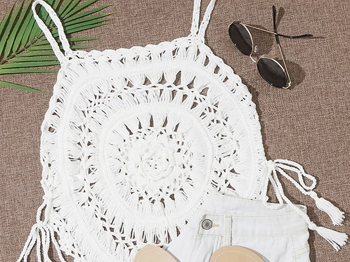 Crochet Cover-Up Top!