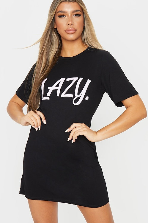 Lazy Oversized Night Tee