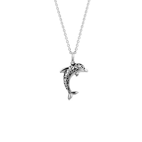Pacific Dolphin Necklace - 4N40020