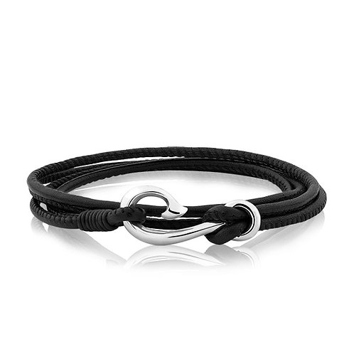 Safe Travel Bracelet Black - LKBWBS