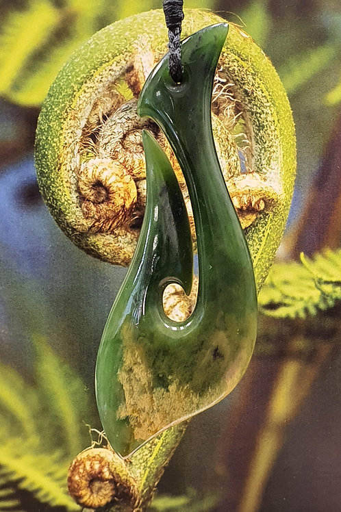 NZ Greenstone Hook - 2b
