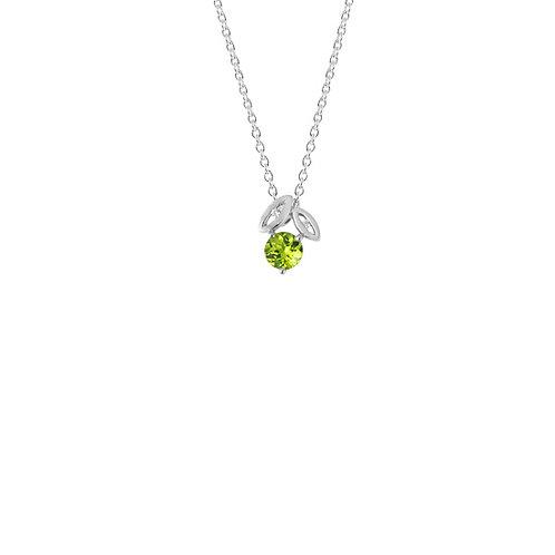 Promise Leaf Necklace - 4N40017