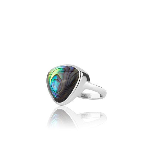 Statement Paua Ring - 3R40011