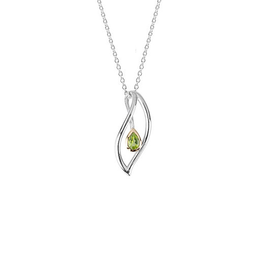 Eternity Leaf Necklace - 4N40016