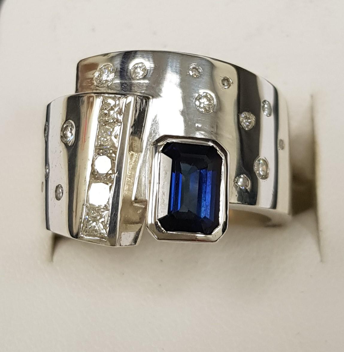 Sapphire and Diamond Modern