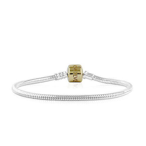 Evolve Signature Bracelet Gold Clasp - LKBEG