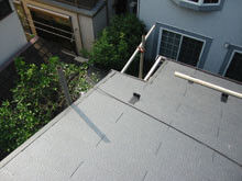 横浜市鶴見区 屋根葺き替えリフォーム 大屋根 施工後 ケラバ