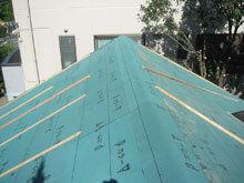東京都町田市 屋根全面 防水シート 完了 北面棟