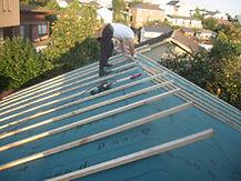 横浜市港北区 屋根葺き替え工事 ルーフィング 完了