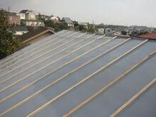 横浜市港北区 屋根葺き替え工事 合羽 被せ
