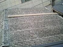 神奈川県 川崎市 中原区 屋根工事 屋根リフォーム 工場 スレート屋根 点検 足場が不安定