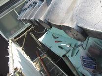 神奈川県 川崎市 麻生区 屋根リフォーム 雨樋工事 積雪 被害 施工中
