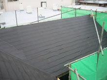 川崎市多摩区 屋根リフォーム 防水紙 全面貼り 完成 本谷