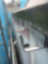 川崎市 宮前区 屋根工事 雨樋工事 施工中 軒樋 新規 樋吊り 勾配 ドレン