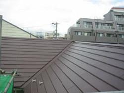 横浜市カバー工法屋根リフォーム完成