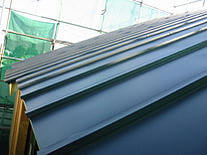 屋根工事時 屋根材 重量 金属 桟葺き屋根