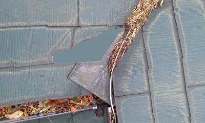 横浜市 川崎市 町田市 台風 被害 スレート 屋根工事 屋根リフォーム 完成図 破片あり