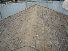 川崎市 高津区 既存瓦屋根の撤去完了 棟