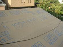 横浜市港北区 屋根葺き替え工事 エコヘルボード設置 完了