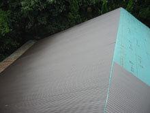 東京都町田市 屋根リフォーム 仕上材 波板 施工 南面