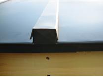 横浜市青葉区、屋根リフォーム鼻隠し