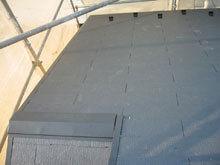 川崎市 屋根リフォーム 施工後 壁取り合い