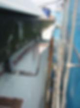 川崎市 宮前区 屋根工事 雨樋工事 施工中 軒樋 新規 樋吊り 設置