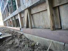 東京都稲城市 外壁板金 既存波板 解体