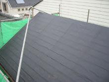 川崎市多摩区 屋根リフォーム 防水紙 全面貼り 完成 流れ