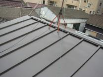 屋根工事施工後