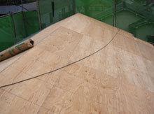 横浜市鶴見区 屋根リフォーム コンパネ設置 大屋根 完了