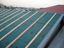 横浜市港北区 屋根葺き替え工事 垂木 木材