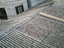 神奈川県 川崎市 中原区 屋根工事 屋根リフォーム 工場 スレート屋根 施工前