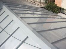 横浜市港北区 屋根葺き替え工事 瓦棒 棟板金