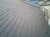 屋根工事時 屋根材 重量 コロニアル スレート屋根