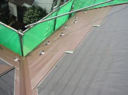 横浜市カバー工法屋根リフォーム葺き