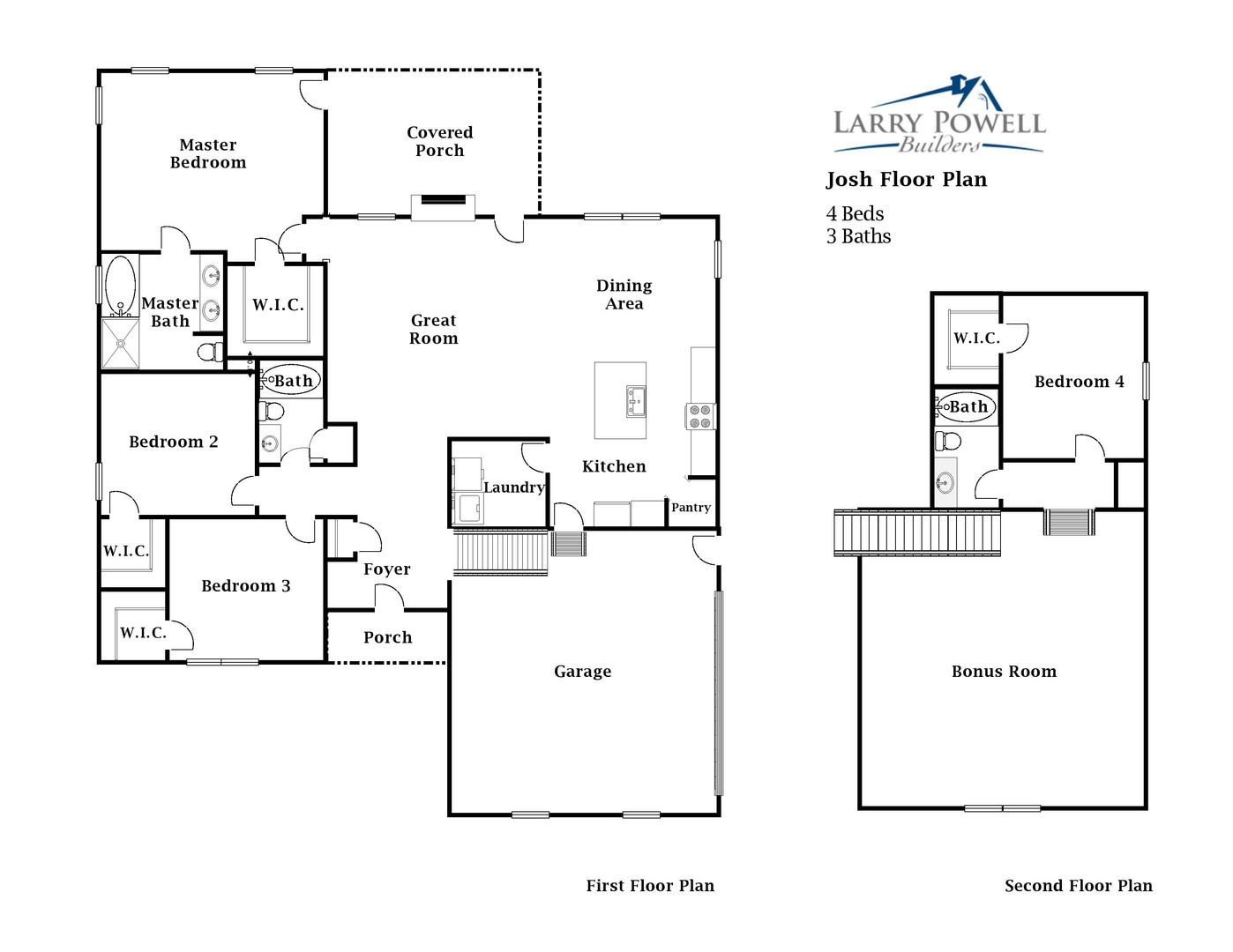 The Josh Floor Plan