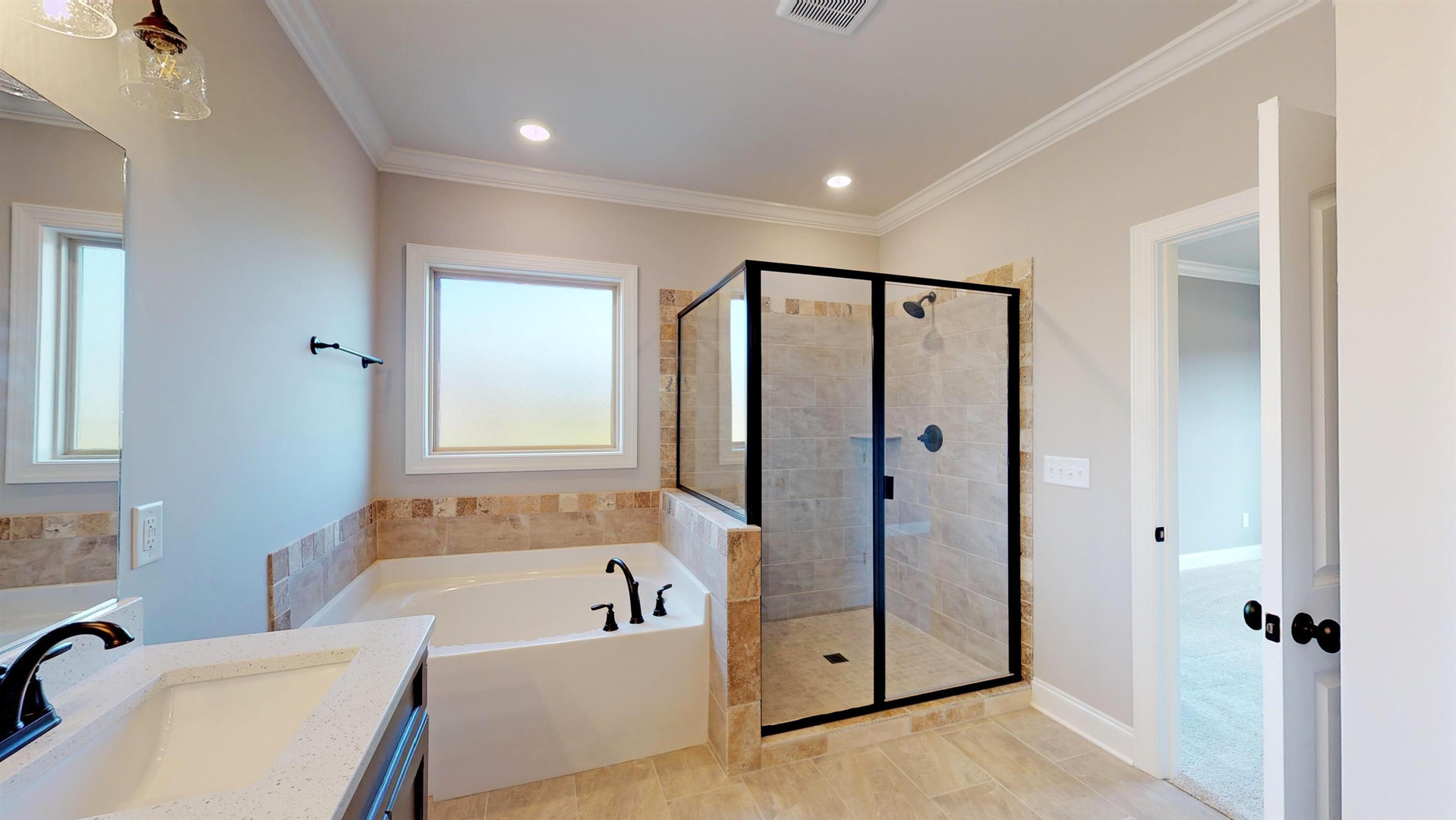 The Bouldercrest Master Bathroom