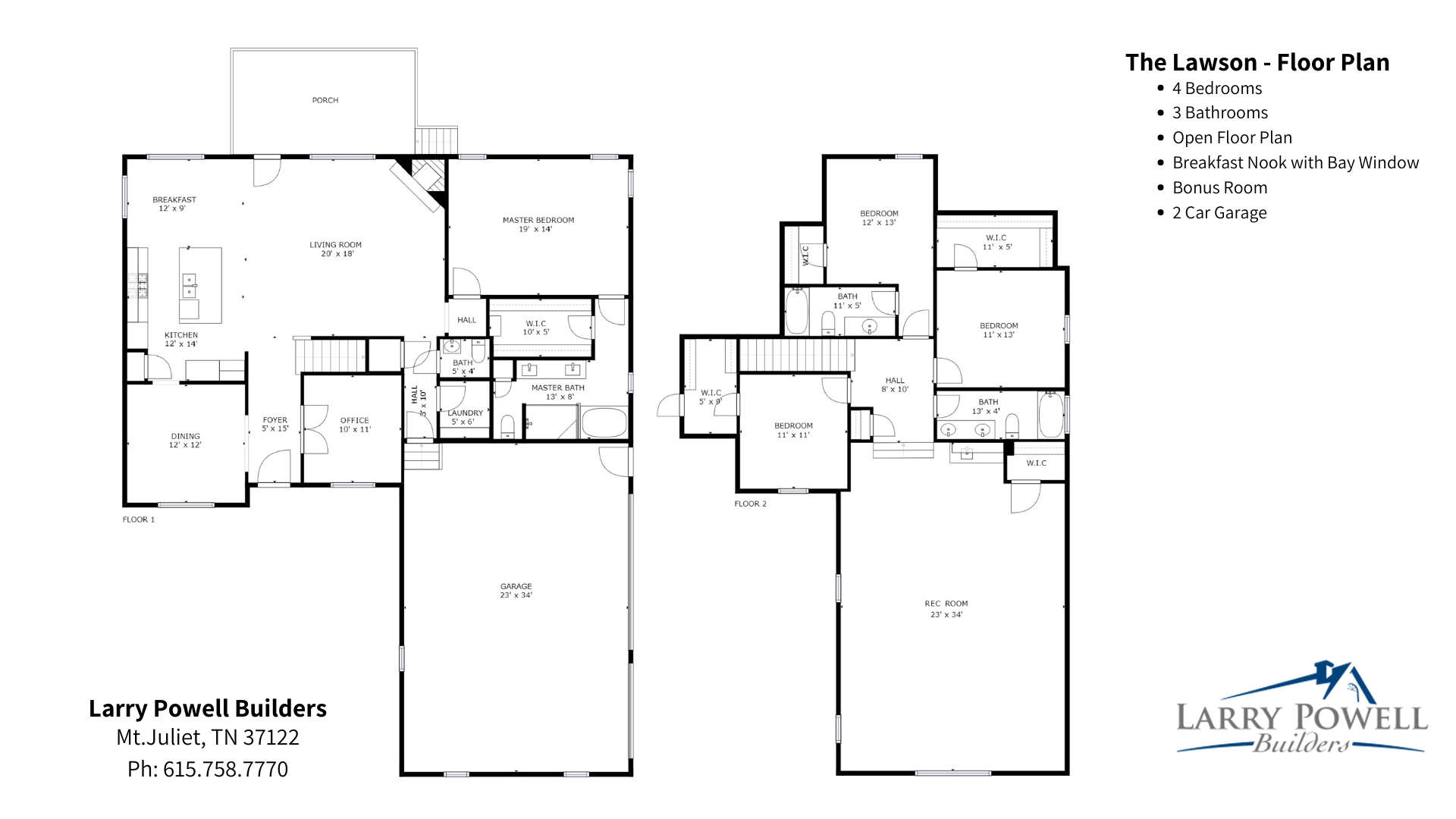 LPB Lawson Floorplan