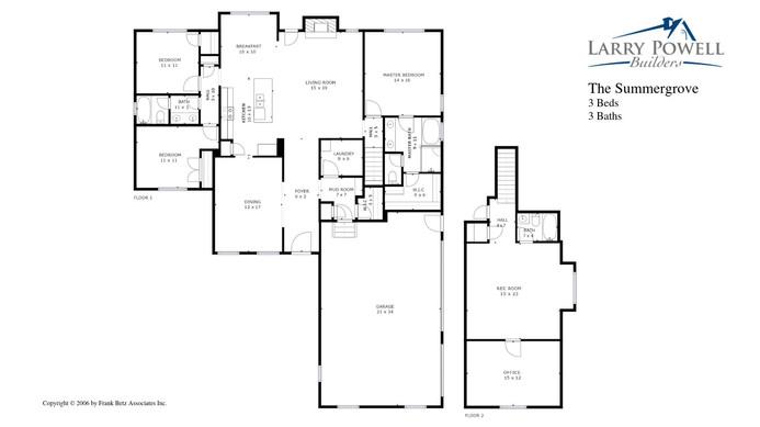 The Summergrove Floor Plan