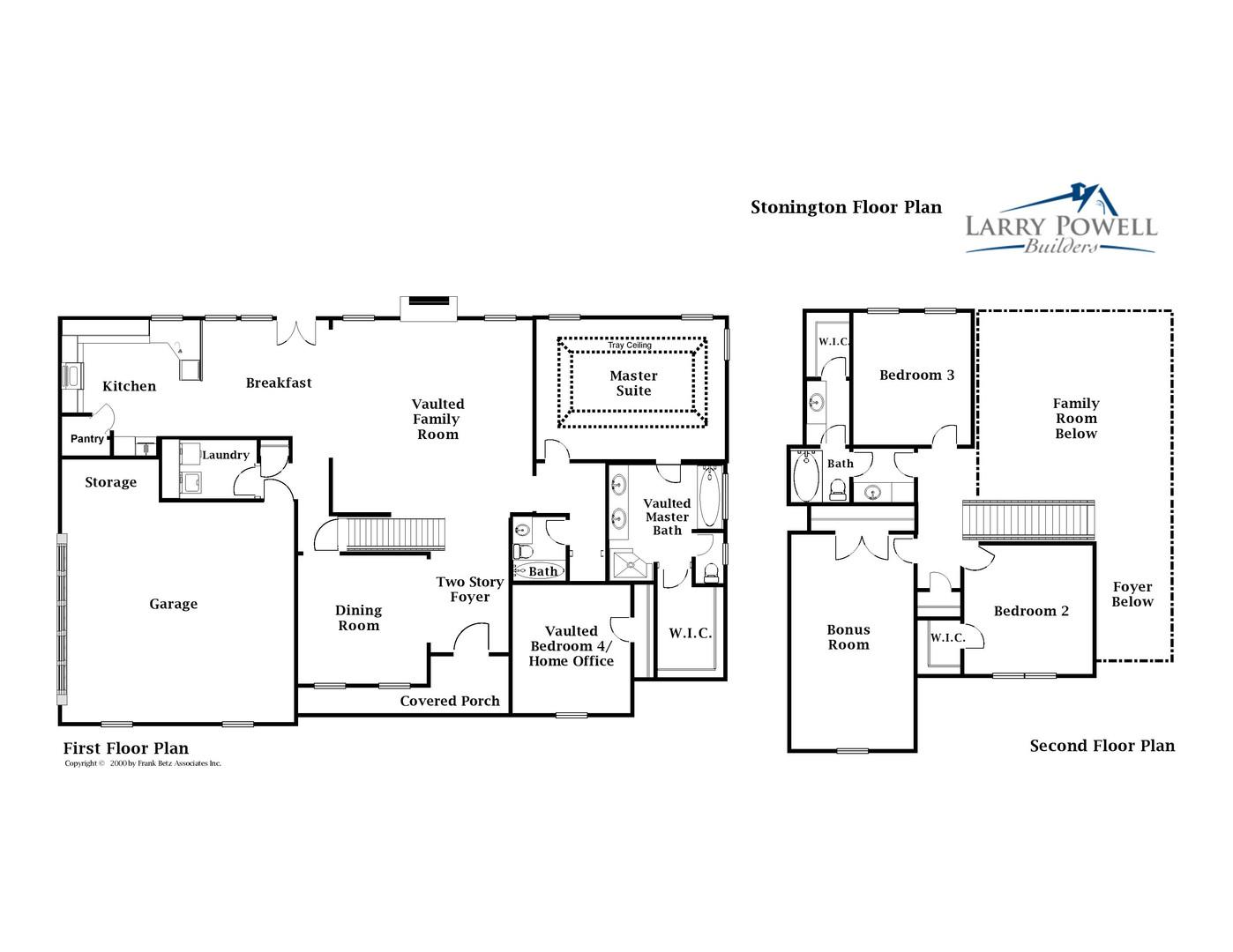 Stonington Floor Plan