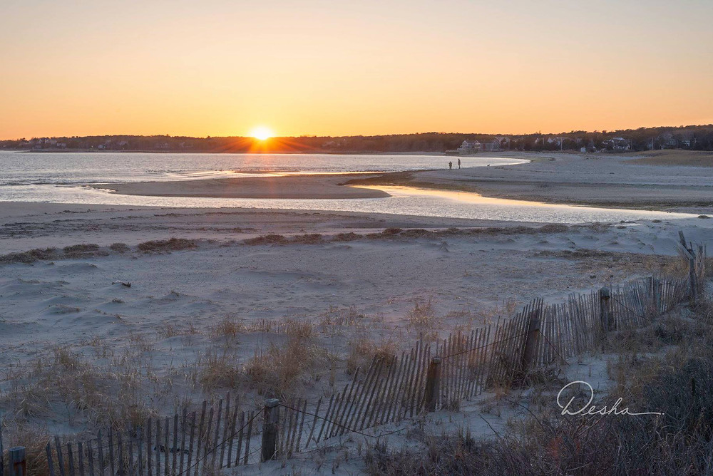 massachusetts, sunset, cape cod, hardings, coast