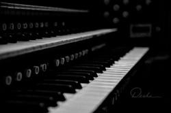 The Organ Keyboard at St. Mark's