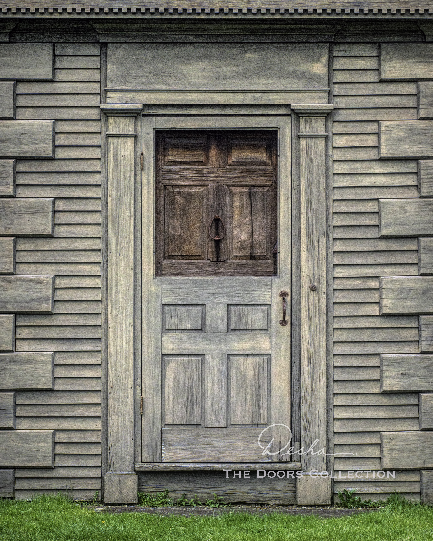 Winslow House Door, Marshfield, MA
