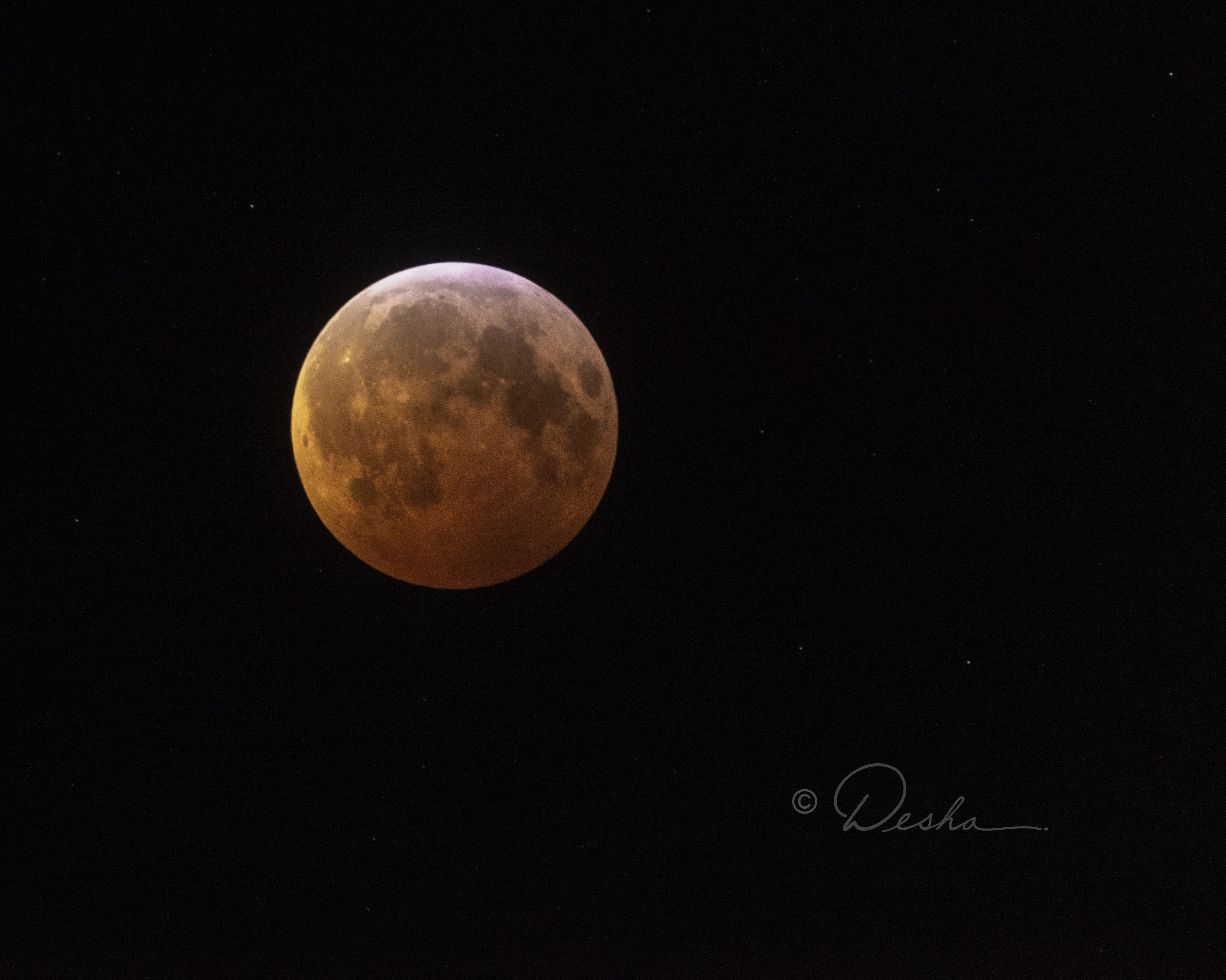 Full Blood Moon Eclipse