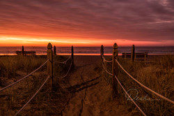 Sunrise at Old Orchard Beach, Maine